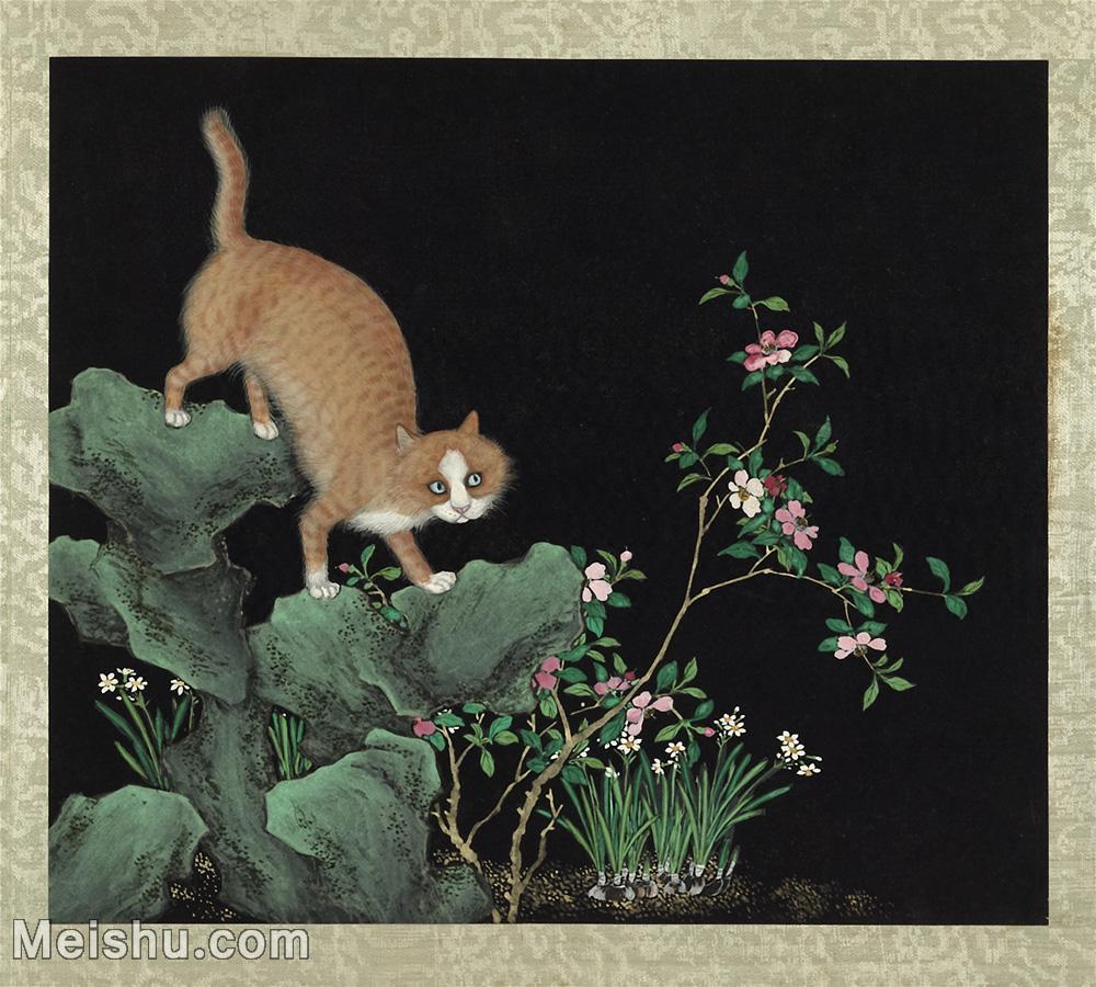 【欣赏级】GH6060041古画写意猫咪花猫(册页图片-7M-1667X1500.jpg