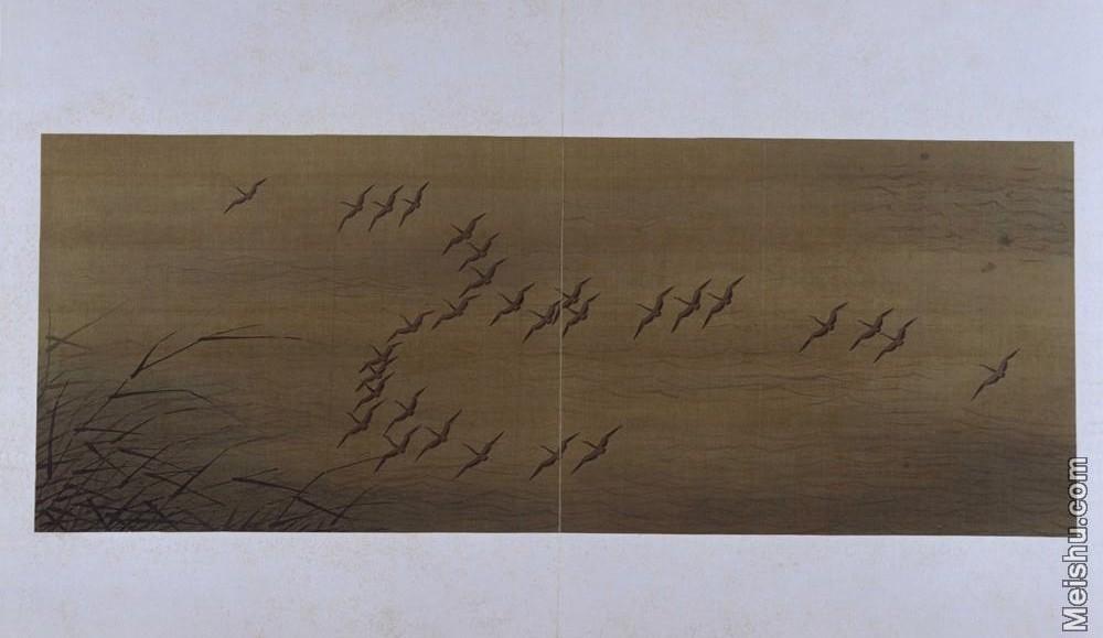 【印刷级】GH6064115古画古琴曲《秋鸿》图谱册4_11引阵图册页图片-69M-6488X3756.jpg