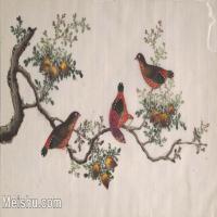 【欣赏级】GH6062894古画古代花鸟小品图册鹧鸪册页图片-4M-1616X1008