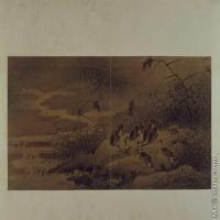 【印刷级】GH6064086古画古琴曲《秋鸿》图谱册1_11呼芦图册页图片-70M-6432X3816