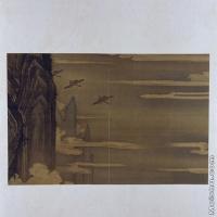 【印刷级】GH6064118古画古琴曲《秋鸿》图谱册4_17声断楚云图册页图片-70M-6416X3819