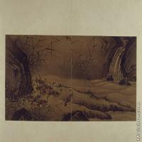 【印刷级】GH6064085古画古琴曲《秋鸿》图谱册1_09呼群图册页图片-70M-6440X3840