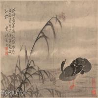 【印刷级】GH6061947古画边寿民-芦雁图十开(2)册页图片-68M-4876X3697