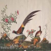 【欣赏级】GH6062887古画古代花鸟小品图册山鸡册页图片-4M-1611X1017