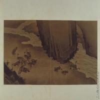 【印刷级】GH6064088古画古琴曲《秋鸿》图谱册1_15聚沙图册页图片-70M-6600X3729
