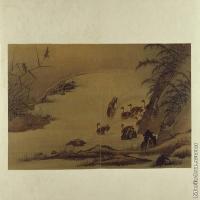 【印刷级】GH6064091古画古琴曲《秋鸿》图谱册2_03出渚图册页图片-70M-6584X3720