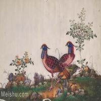 【欣赏级】GH6062892古画古代花鸟小品图册鹌鹑册页图片-4M-1613X1017
