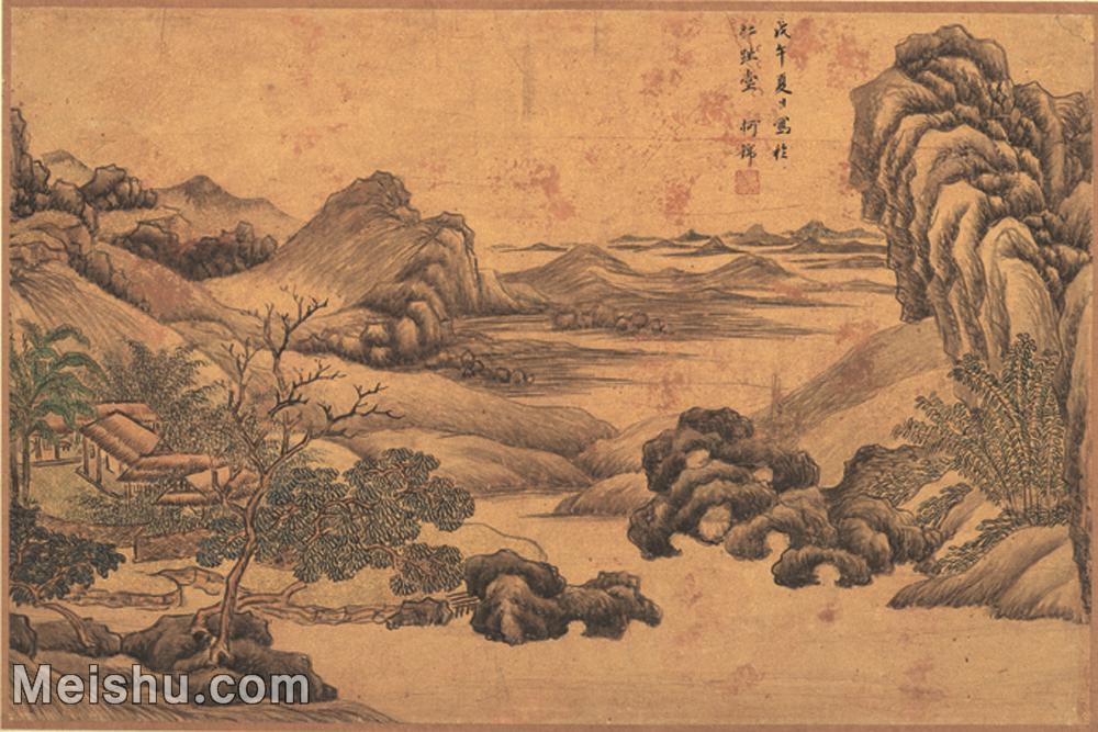 【打印级】GH6062005古画王时敏-书画十六开(10)册页图片-20M-2842X1895.jpg