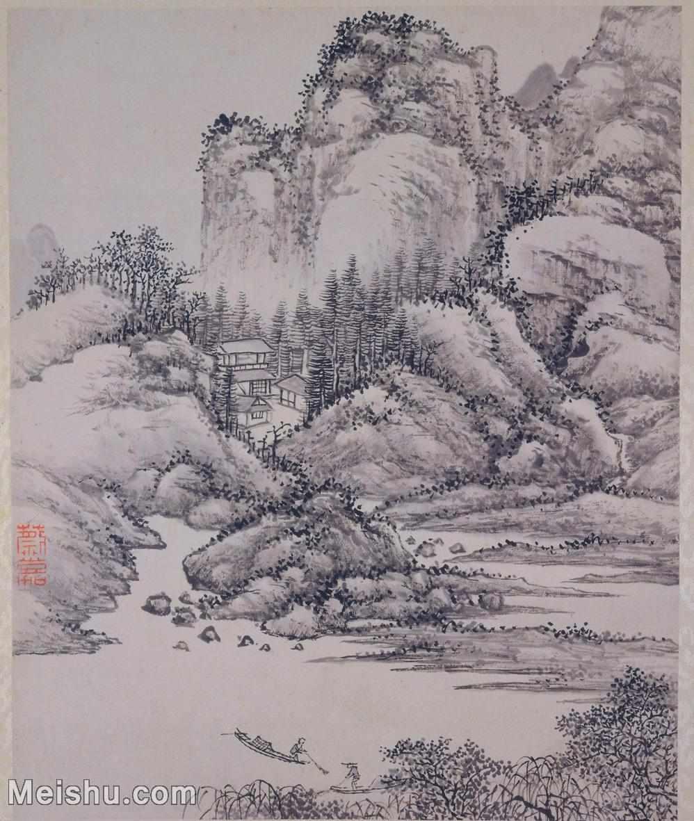 【打印级】GH6064187古画山水册页图片-24M-2706X3200_13046129.jpg