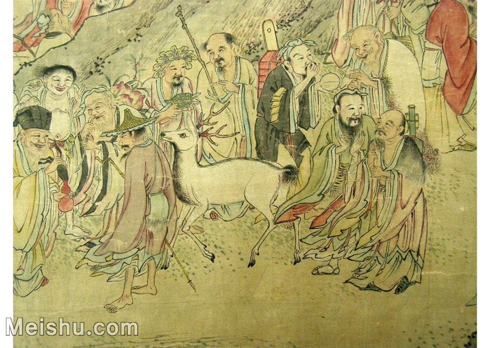 【欣赏级】GH6063524古画百寿图人物册页(10)册页图片-12M-2500X1775.jpg