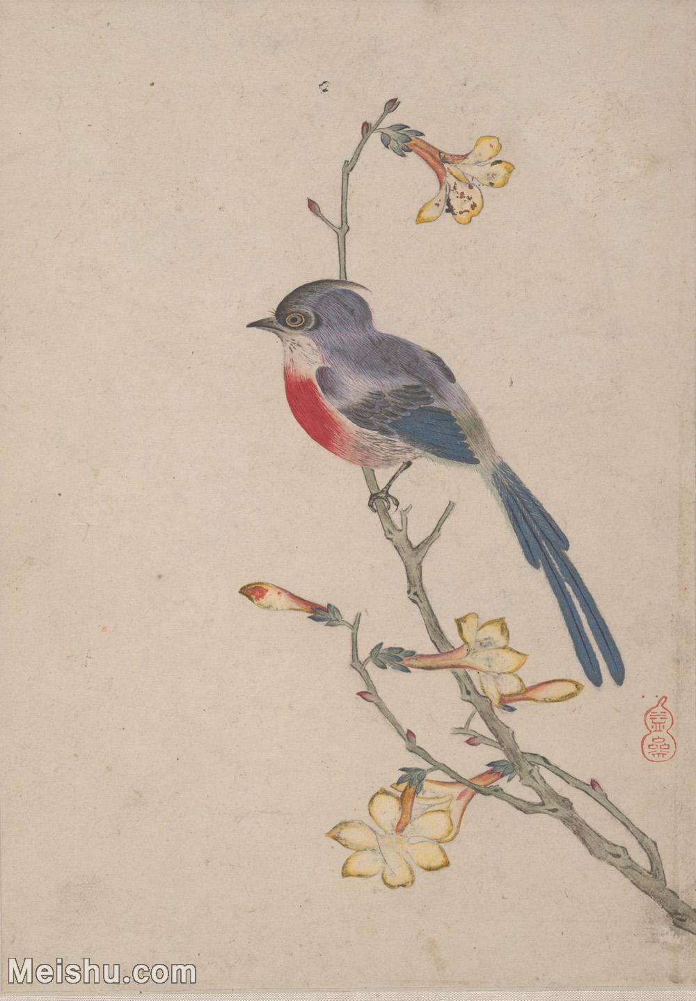 【打印级】GH6062859古画乾隆皇帝御笔花鸟图册1册页图片-26M-2523X3624.jpg
