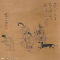 【欣赏级】GH6062546古画王翚人物(4)册页图片-14M-1555X2407_56050909
