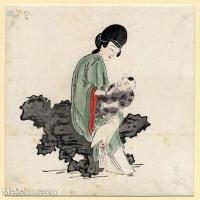 【欣赏级】GH6060625古画中国版画大英博物馆藏8册页图片-9M-1775X1851