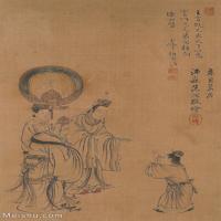【欣赏级】GH6062545古画王翚人物(3)册页图片-14M-1537X2415_56050129