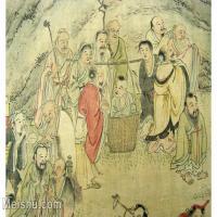 【欣赏级】GH6063528古画百寿图人物册页(4)册页图片-12M-2500X1775