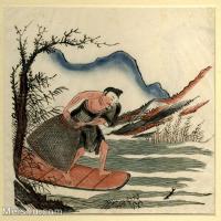 【欣赏级】GH6060628古画中国版画大英博物馆藏5册页图片-9M-1827X1775