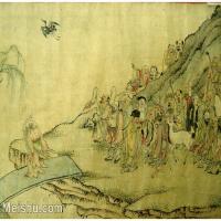 【欣赏级】GH6063532古画百寿图人物册页(8)册页图片-12M-2500X1775