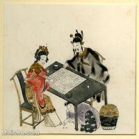 【欣赏级】GH6060626古画中国版画大英博物馆藏7册页图片-9M-1887X1775