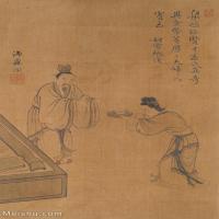 【欣赏级】GH6062549古画王翚人物(7)册页图片-15M-1537X2442_56053327