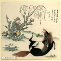 【欣赏级】GH6060627古画中国版画大英博物馆藏6册页图片-9M-1872X1775