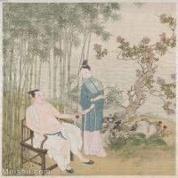 【印刷级】GH6151004古画册页人物[清]佚名-人物图图片-6M-1466X1600_57588985