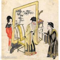 【欣赏级】GH6060630古画中国版画大英博物馆藏3册页图片-9M-1893X1775