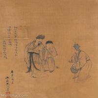 【欣赏级】GH6062547古画王翚人物(5)册页图片-15M-1607X2413_56051767