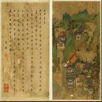 【欣赏级】GH6063514古画明李思训长安图册大英博物馆(1)册页图片-10M-1519X2499_28851542