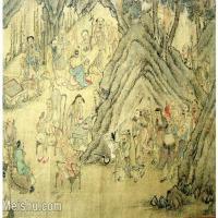 【欣赏级】GH6063526古画百寿图人物册页(2)册页图片-12M-2500X1775_13322344