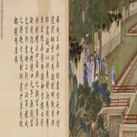 【欣赏级】GH6060652古画[清]冷枚-养正图08册页图片-12M-3353X1253