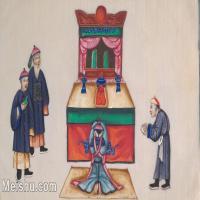 【欣赏级】GH6062967古画清代人物场景工笔纪实图册祭拜先祖册页图片-18M-3217X1959