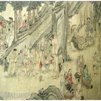 【欣赏级】GH6063531古画百寿图人物册页(7)册页图片-12M-2500X1775