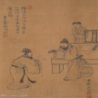 【欣赏级】GH6062543古画王翚人物(1)册页图片-14M-1542X2425_56048351