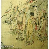 【欣赏级】GH6063530古画百寿图人物册页(6)册页图片-12M-2500X1775