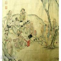 【欣赏级】GH6063533古画百寿图人物册页(9)册页图片-12M-2500X1775