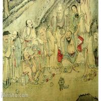 【欣赏级】GH6063523古画百寿图人物册页(1)册页图片-12M-2500X1775