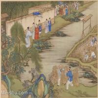 【欣赏级】GH6060040古画养生正图册人物人文建筑册页图片-13M-2475X1881