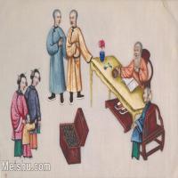 【欣赏级】GH6062975古画清代人物场景工笔纪实图册达官贵人册页图片-18M-3177X2008