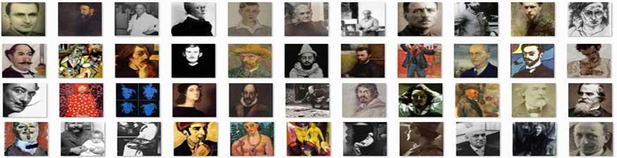 美术网世界巨匠作品集
