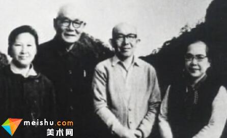 著名画家李可染(中)-二十世纪中国文化名人