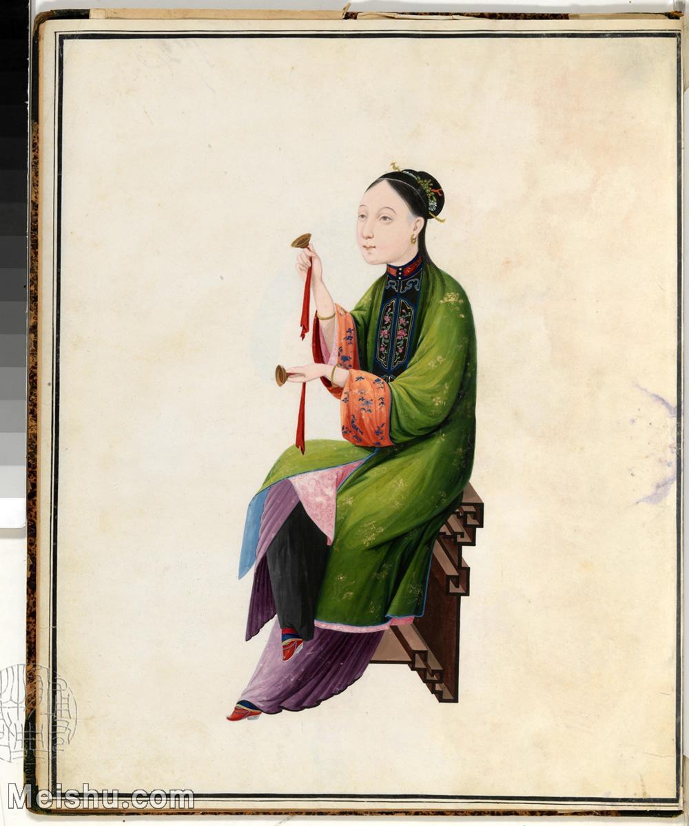 【印刷级】GH6061898古画清佚名女乐师图册(14)-乐器-人物-女人册页图片-19M-2400X2879.jpg