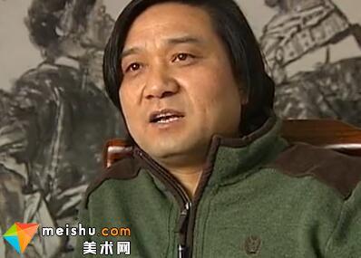 中国国家画院名家风采王辅民-名家名品