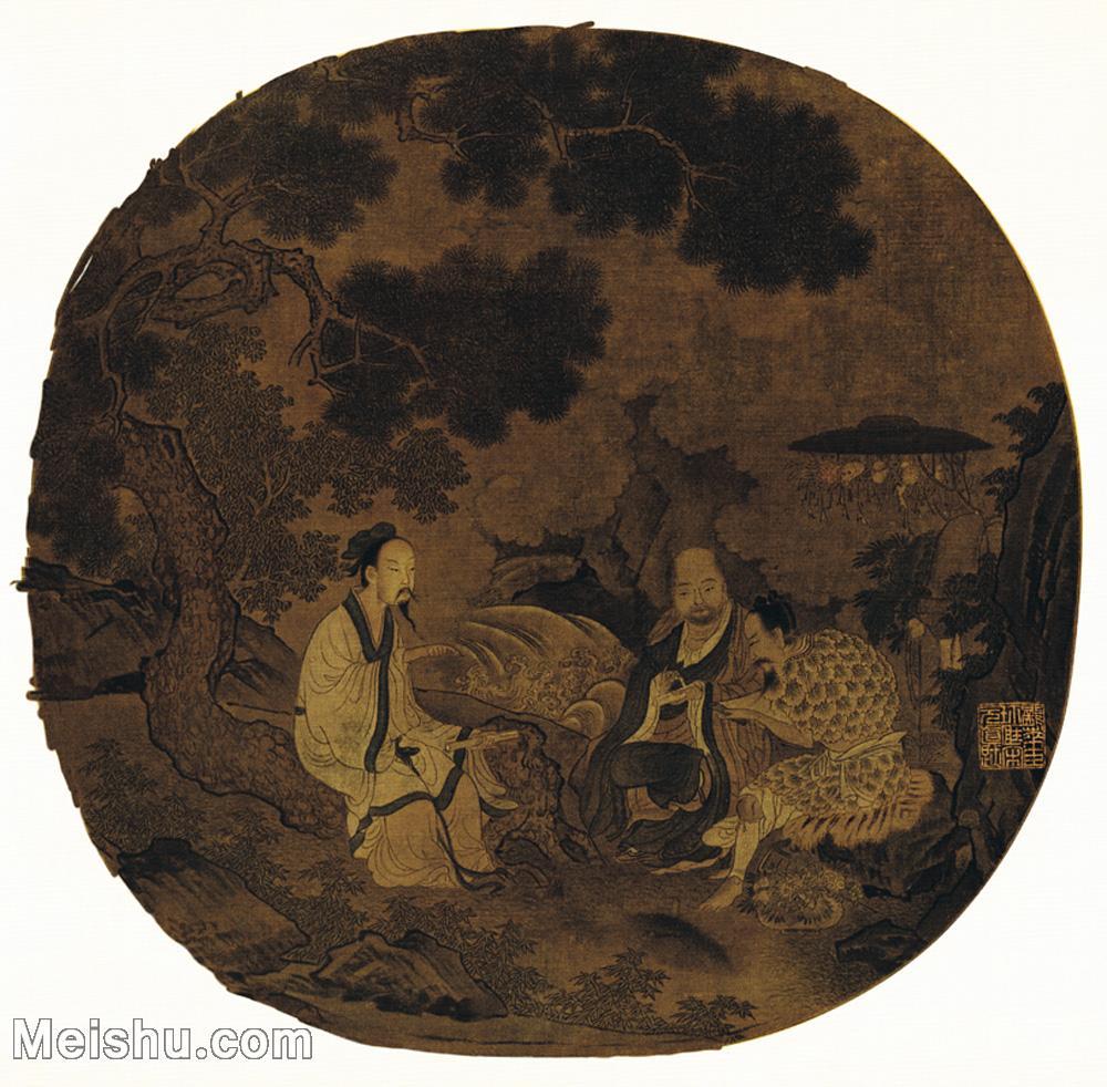 【印刷级】GH6156058古画宋人册页 人物小品图片-43M-3954X3881.jpg