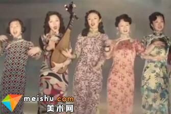 东方女子的雅韵与风情(旗袍)-中国范儿