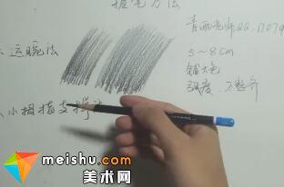 素描:素描入门基础教程之握笔方法