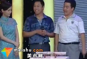 情深兄弟为争藏宝吵嘴(吴谷祥山水画)-华豫之门 2011