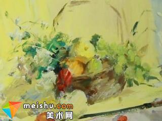 水粉静物像典张德静-美术高考视频教学