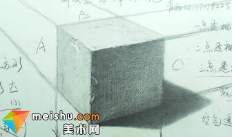 素描:解读素描石膏结合体之透视