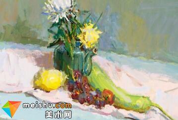 水粉教程静物赵亮-美术高考视频教学