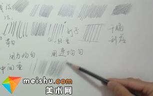 素描:素描入门排线方法